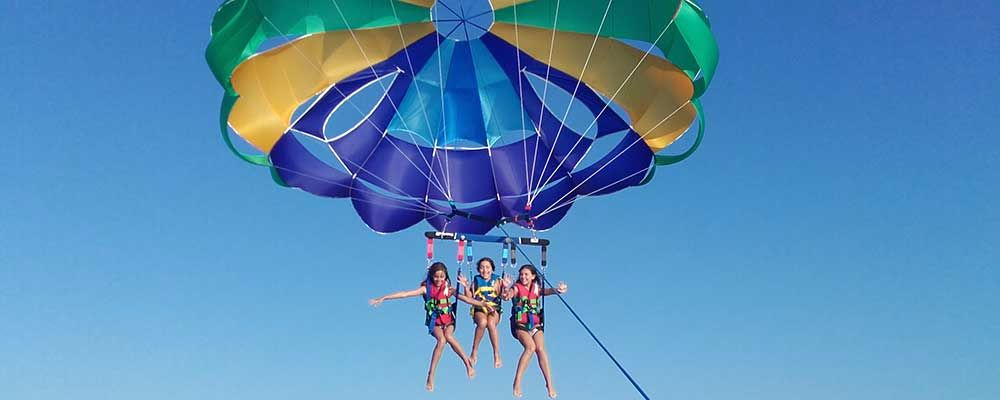 Parasailing and Watersports from Vilamoura Marina