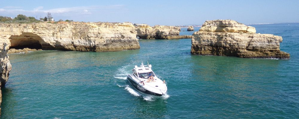 Algarve Coastline cruise